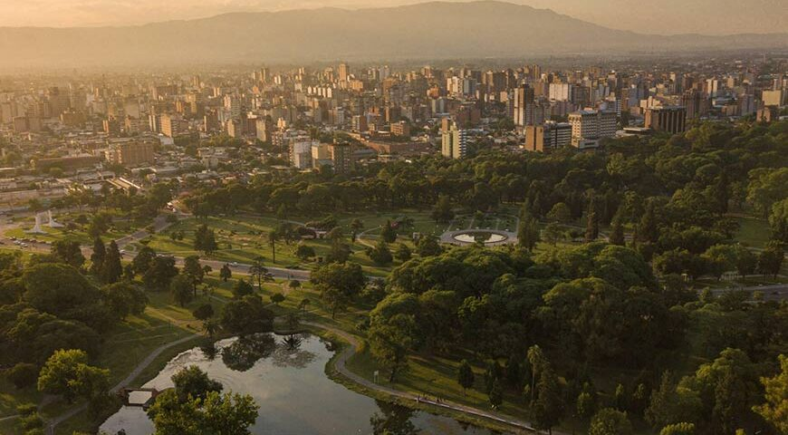 Vista de Tucuman
