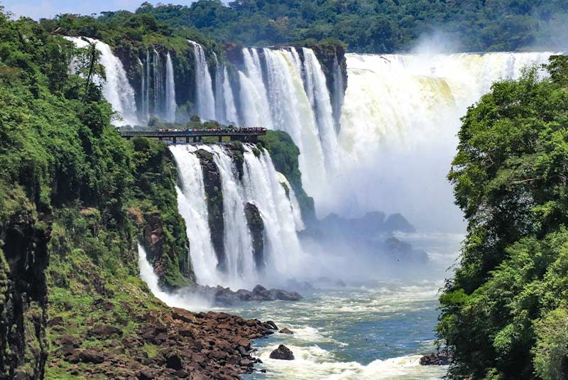 Cataratas Iguazú Argentina-Brasil